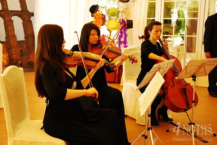 Música boda civil hotel Cándido
