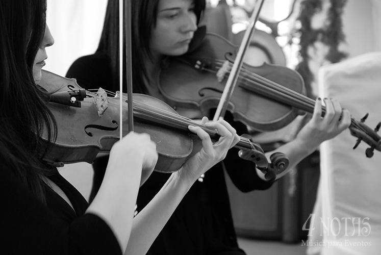 Violines boda civil