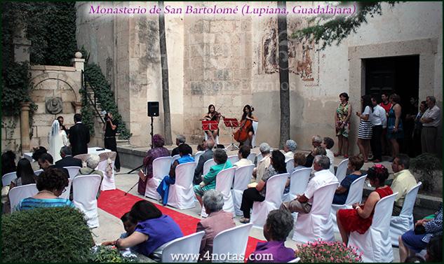 Monasterio Lupiana música