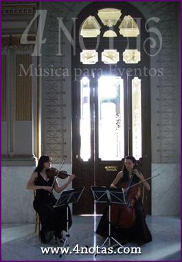 Dúo violín y violonchelo