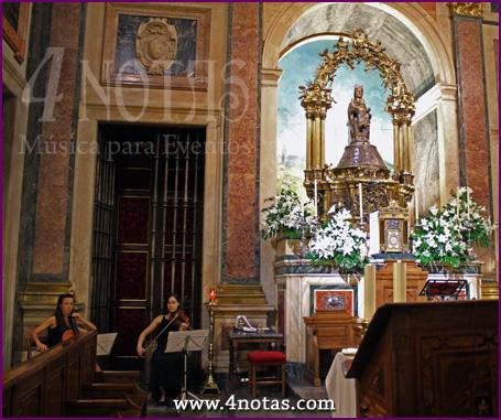 Dúo ceremonia iglesia
