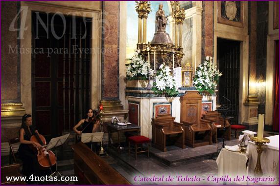 Dúo para bodas iglesia