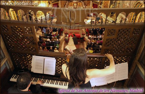 Dúo violin y piano bodas