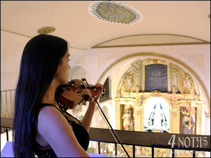 violinista ceremonia