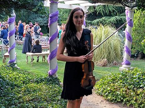 violinista ceremonia civil