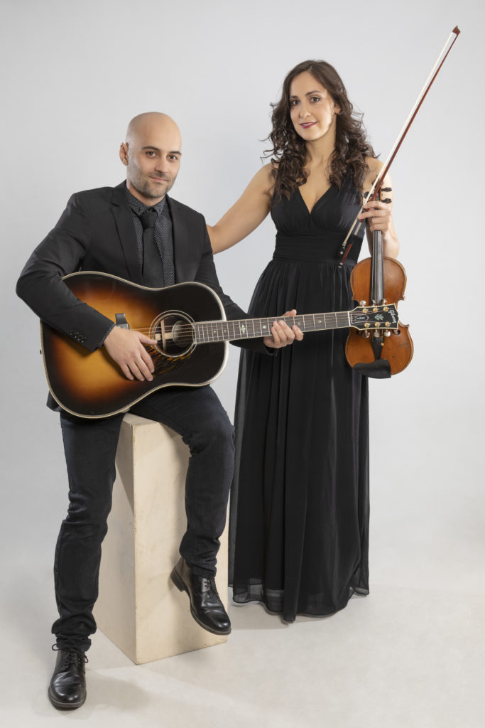 Violin y guitarra eventos