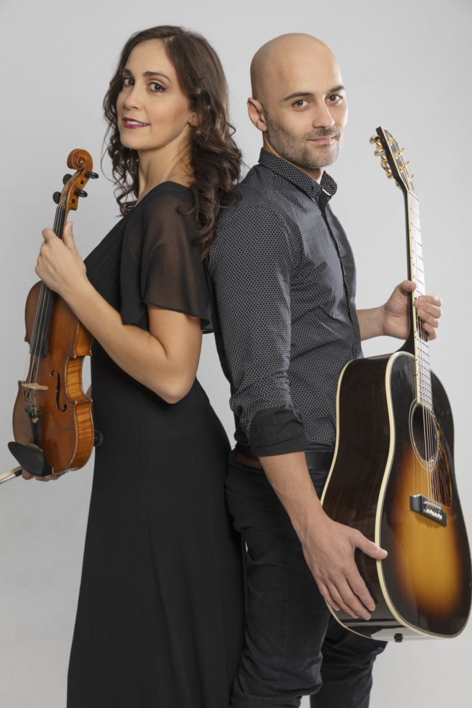 Duo de violin y guitarra para eventos